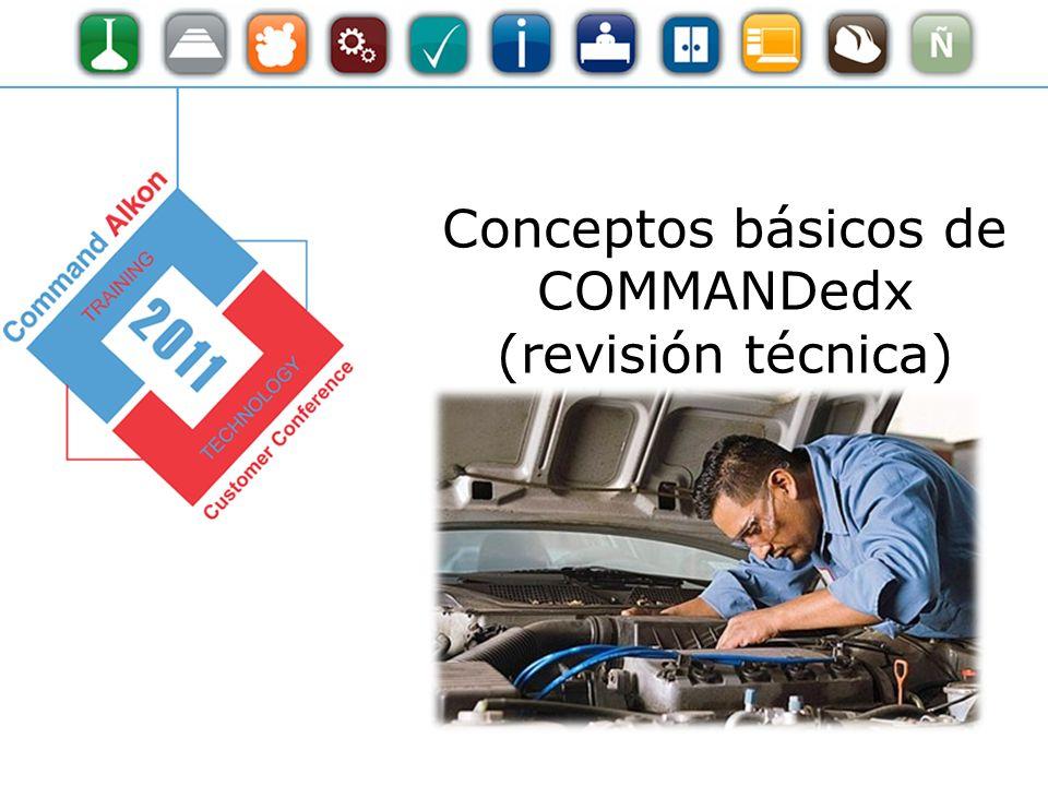 Conceptos básicos de COMMANDedx (revisión técnica)