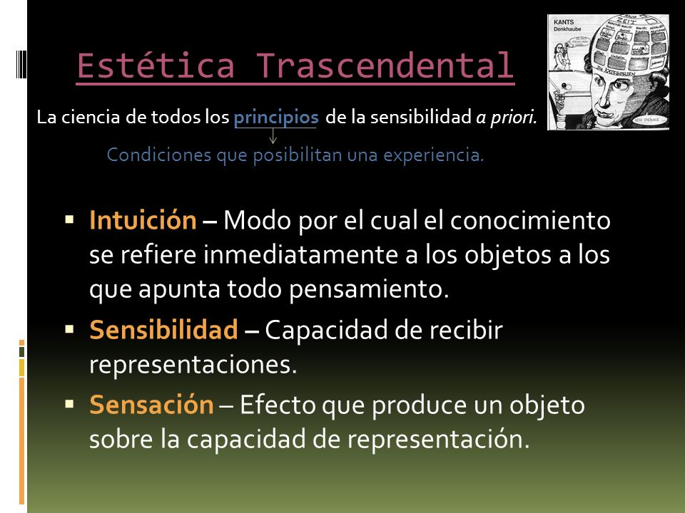 Estética Trascendental