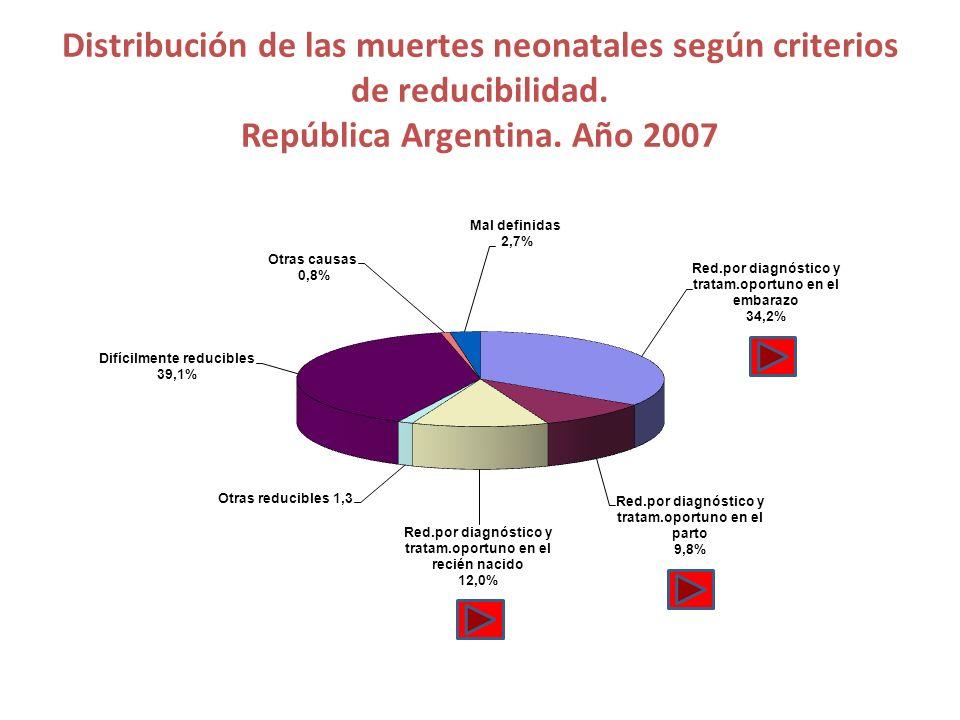 República Argentina. Año 2007