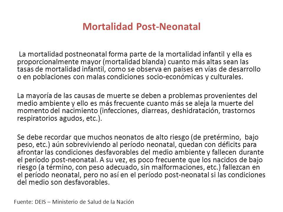 Mortalidad Post-Neonatal
