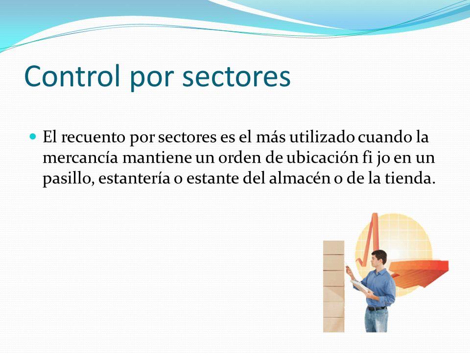 Control por sectores