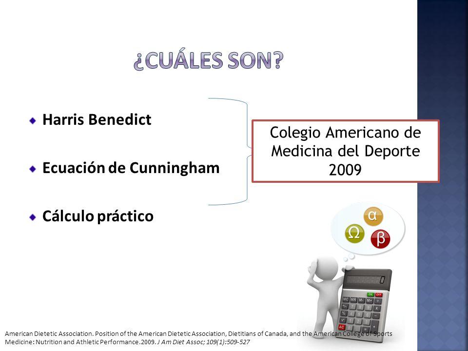 Colegio Americano de Medicina del Deporte 2009