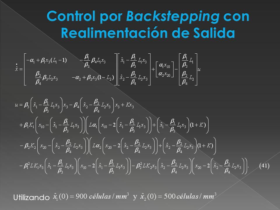 Control por Backstepping con Realimentación de Salida