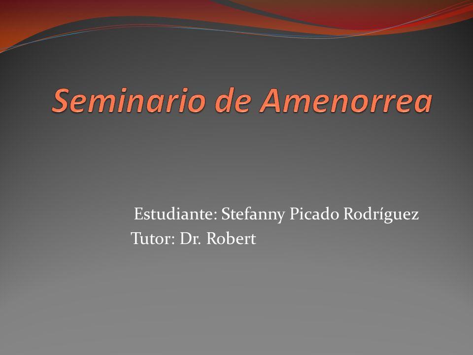 Seminario de Amenorrea