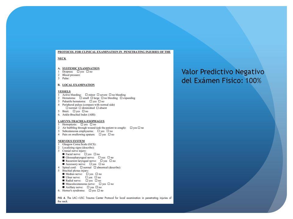 Valor Predictivo Negativo