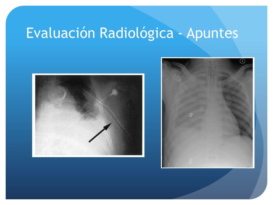 Evaluación Radiológica - Apuntes