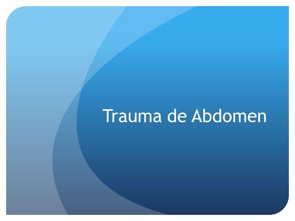 Trauma de Abdomen