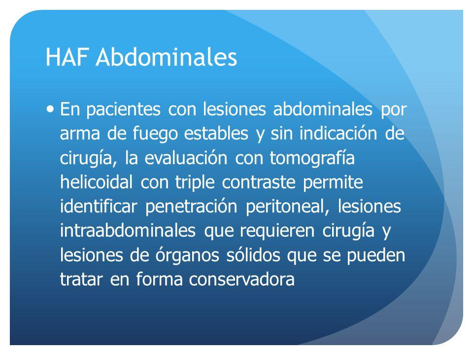 HAF Abdominales