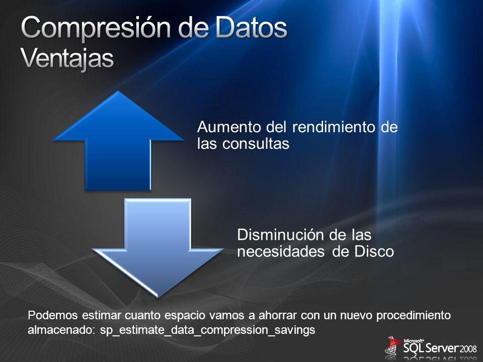 Compresión de Datos Ventajas