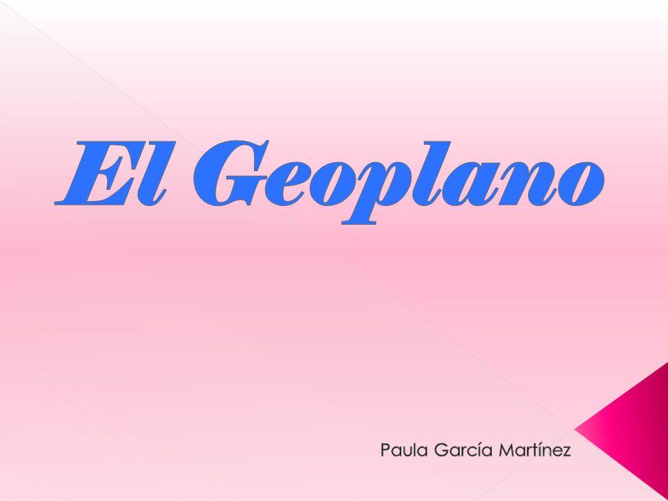 El Geoplano Paula García Martínez