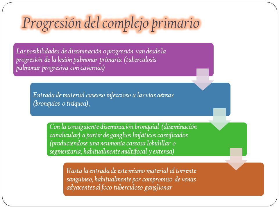 Progresión del complejo primario