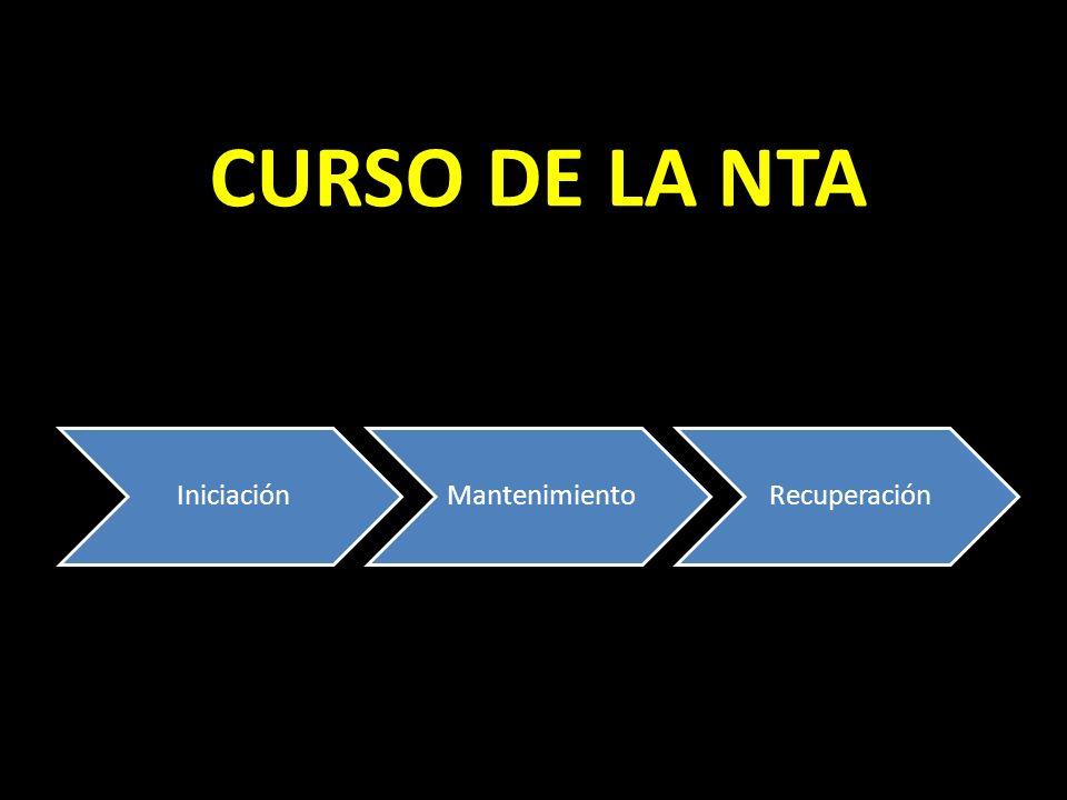 CURSO DE LA NTA Iniciación Mantenimiento Recuperación