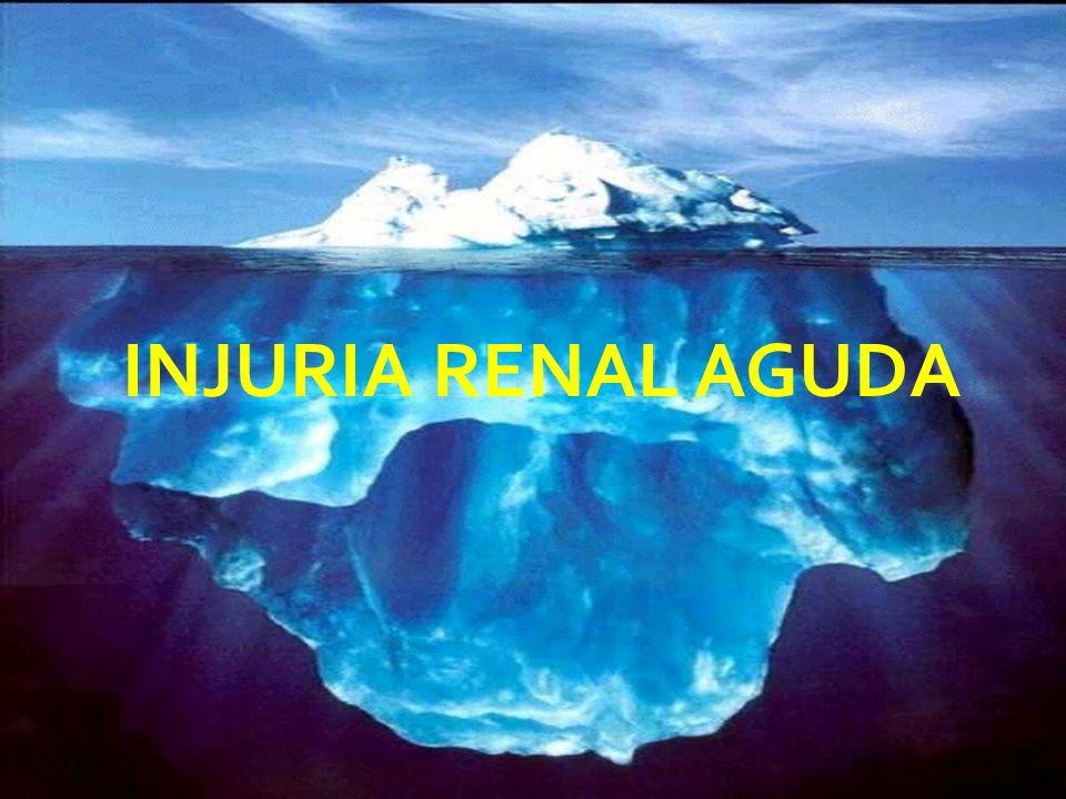 INJURIA RENAL AGUDA FALLA RENAL AGUDA