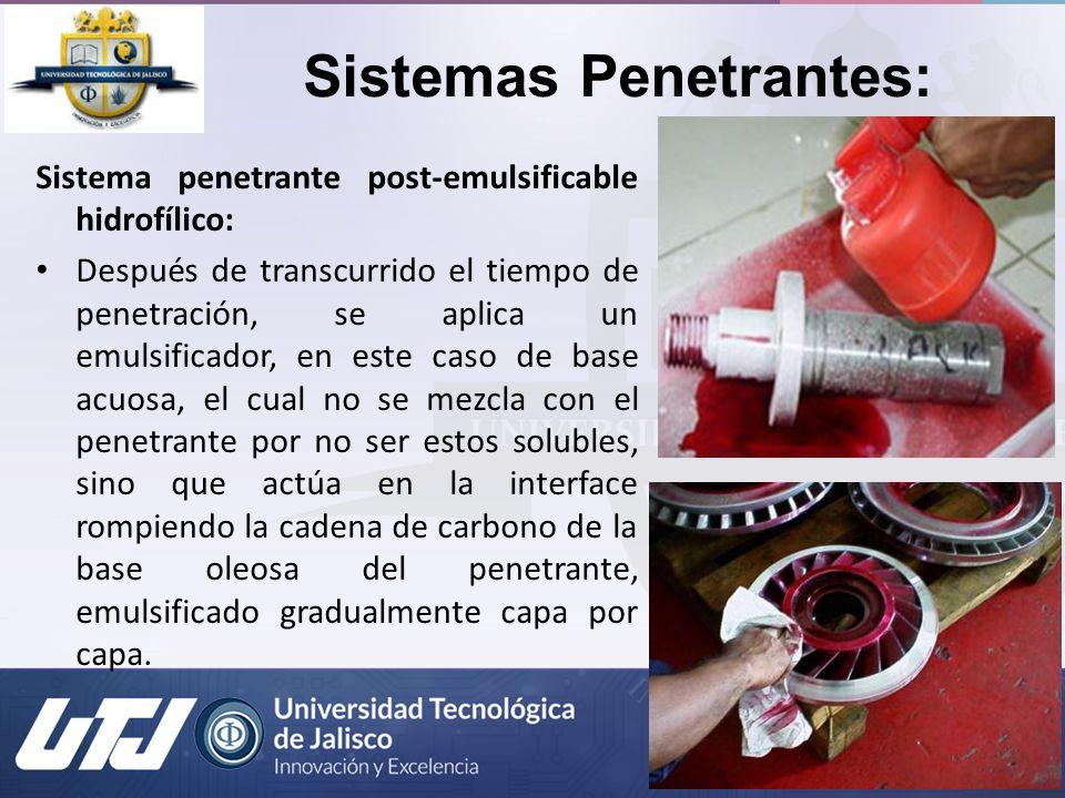 Sistemas Penetrantes: