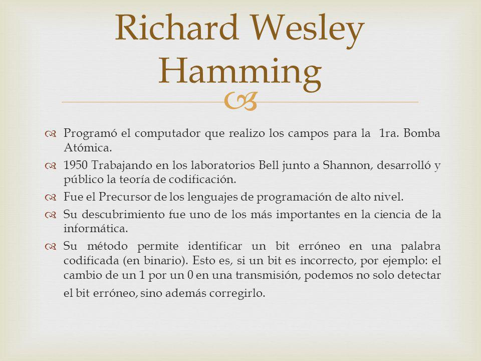 Richard Wesley Hamming