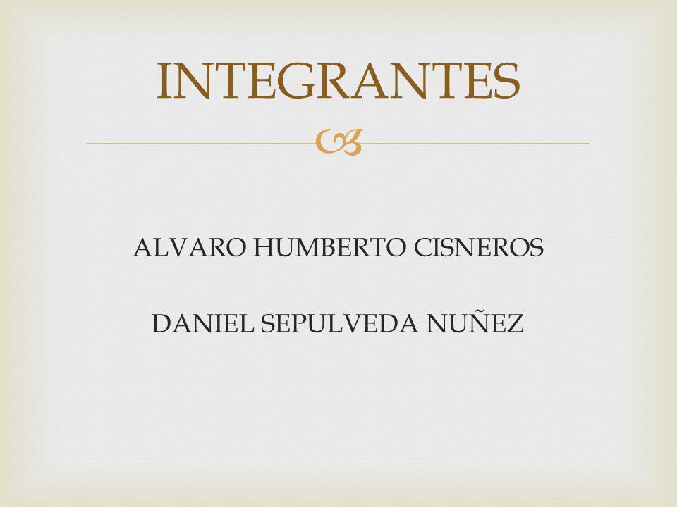 ALVARO HUMBERTO CISNEROS DANIEL SEPULVEDA NUÑEZ