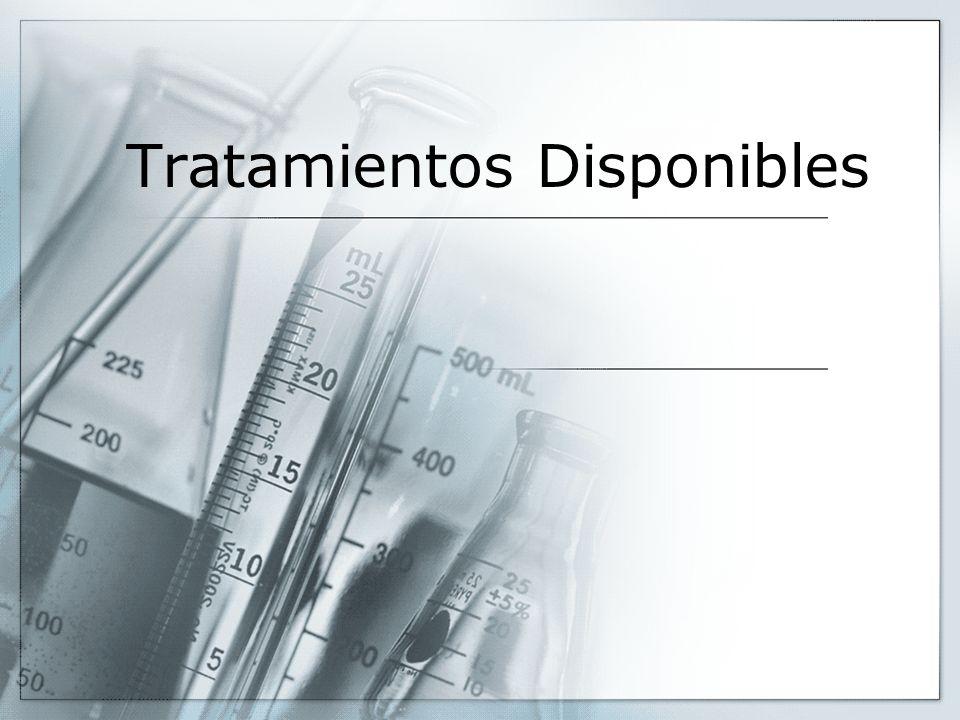 Tratamientos Disponibles