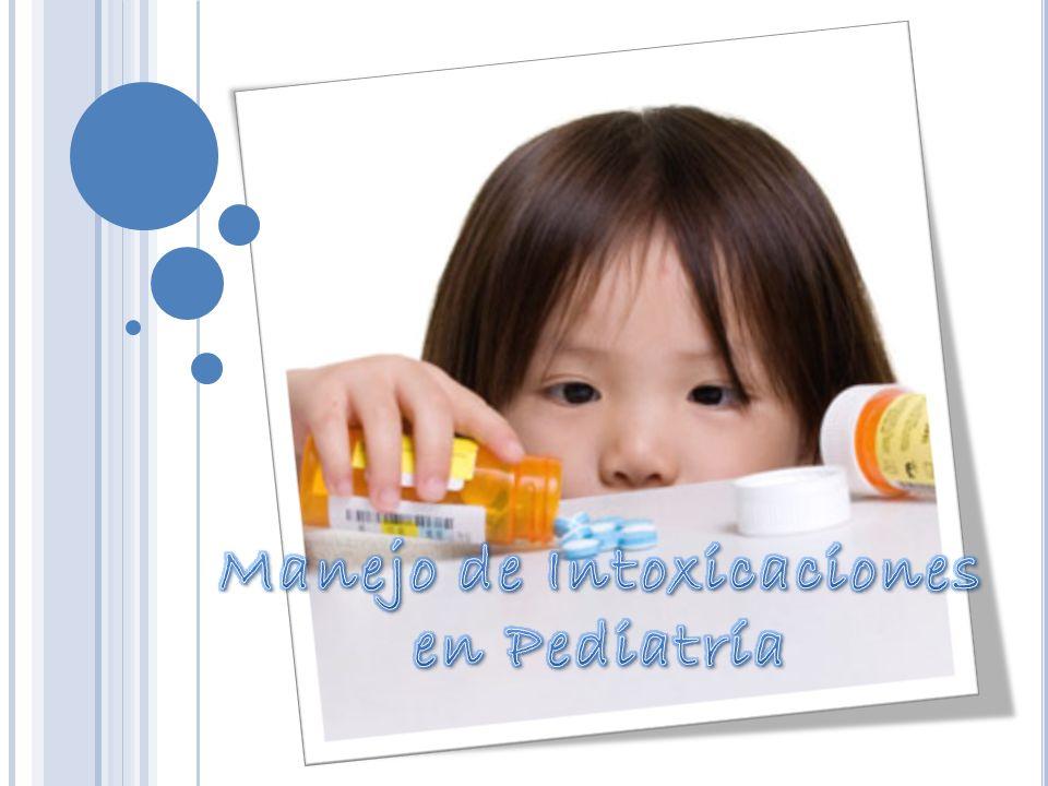 Manejo de Intoxicaciones en Pediatría