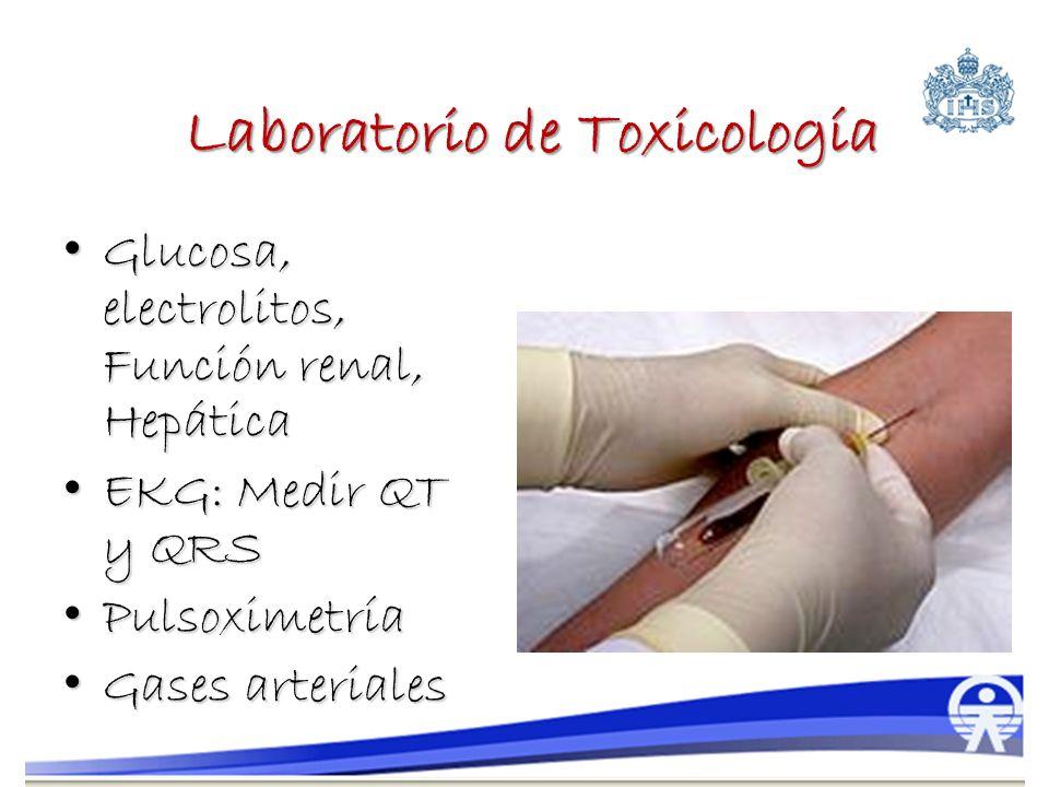Laboratorio de Toxicología