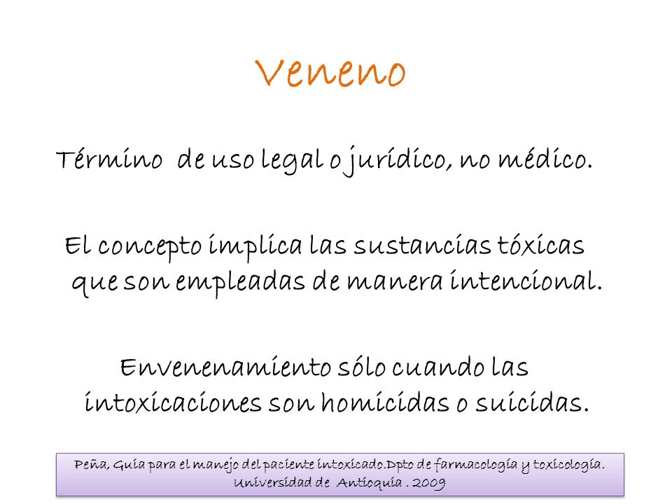 Término de uso legal o jurídico, no médico.