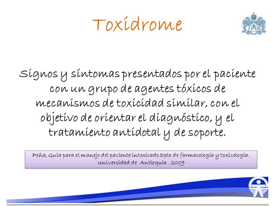Toxidrome