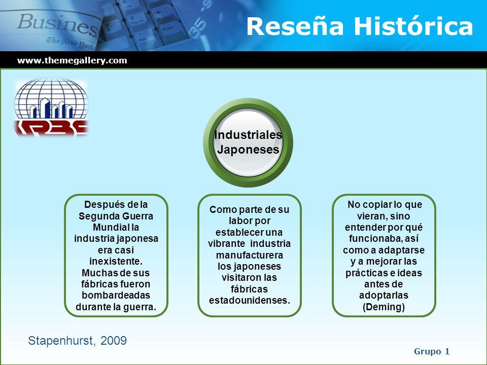 Reseña Histórica Industriales Japoneses Stapenhurst, 2009