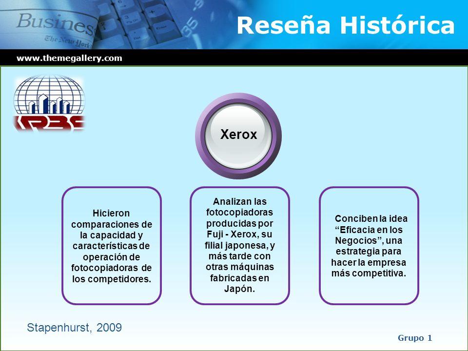 Reseña Histórica Xerox Stapenhurst, 2009