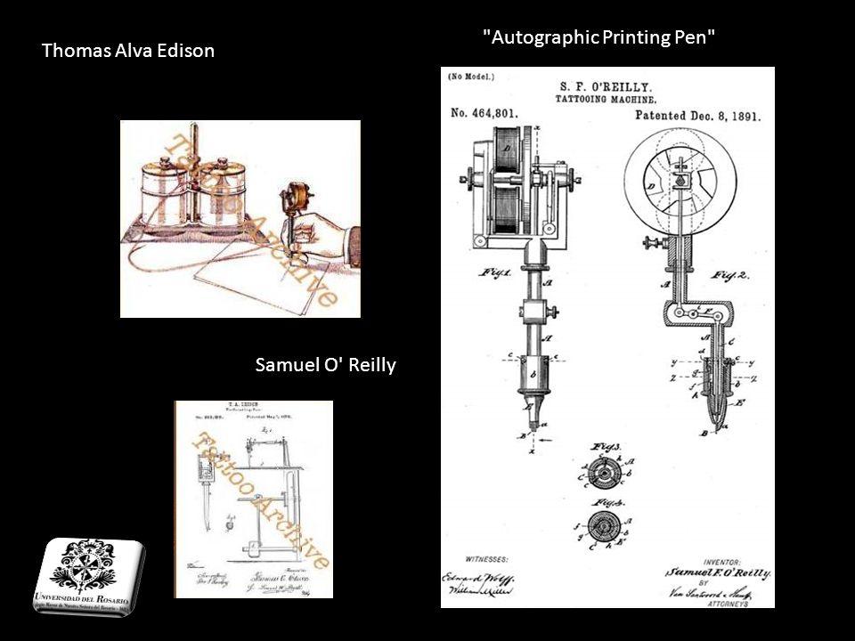 Autographic Printing Pen