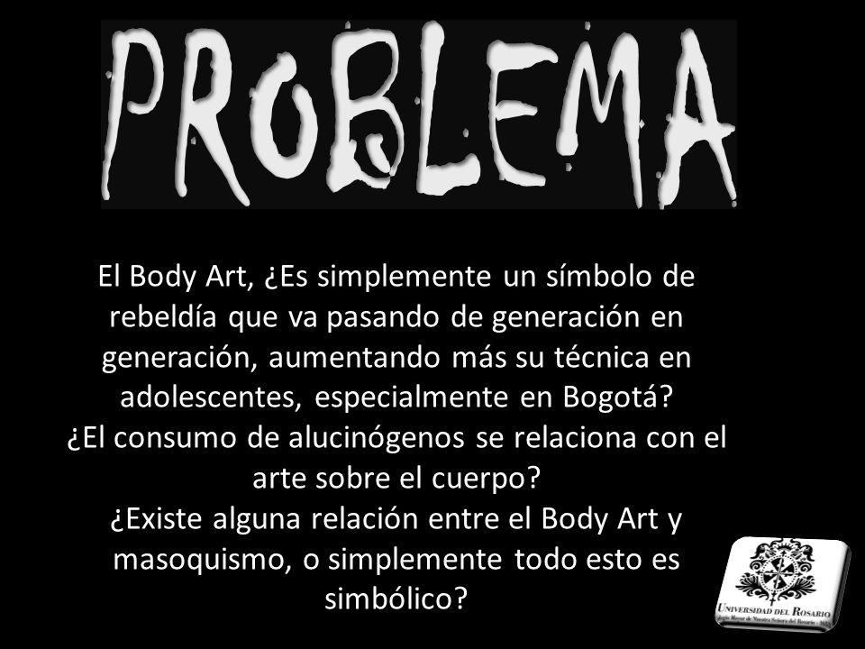 ¿El consumo de alucinógenos se relaciona con el arte sobre el cuerpo