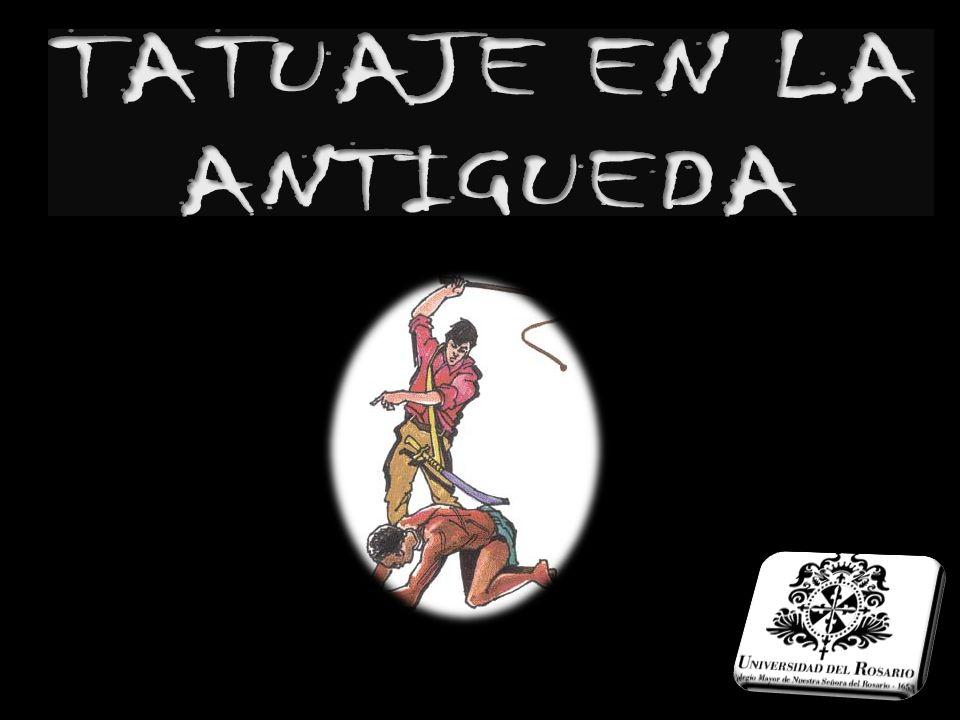TATUAJE EN LA ANTIGUEDA