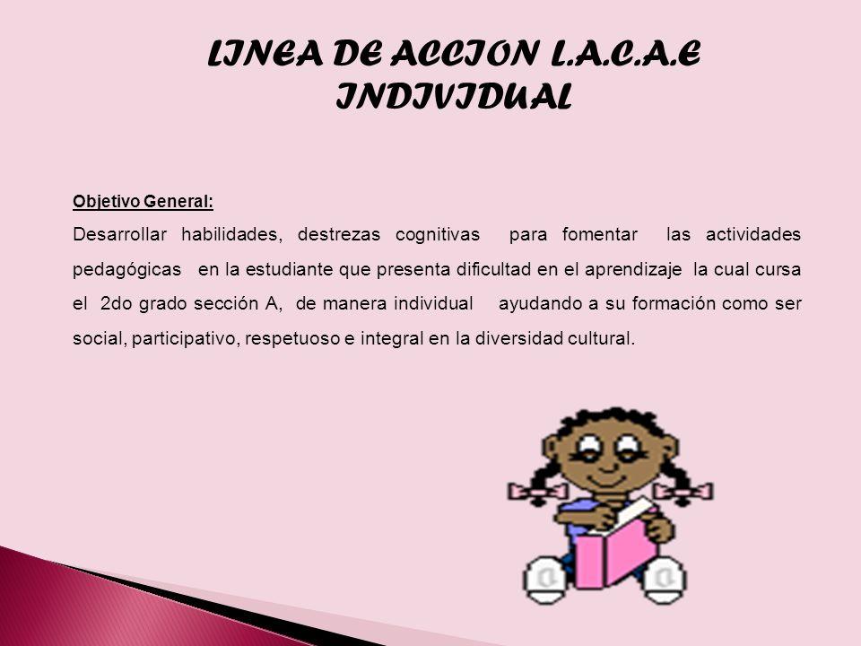 LINEA DE ACCION L.A.C.A.E INDIVIDUAL