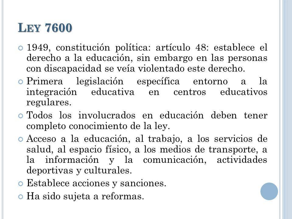 Ley 7600