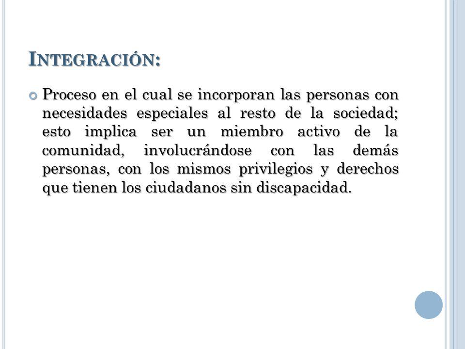 Integración: