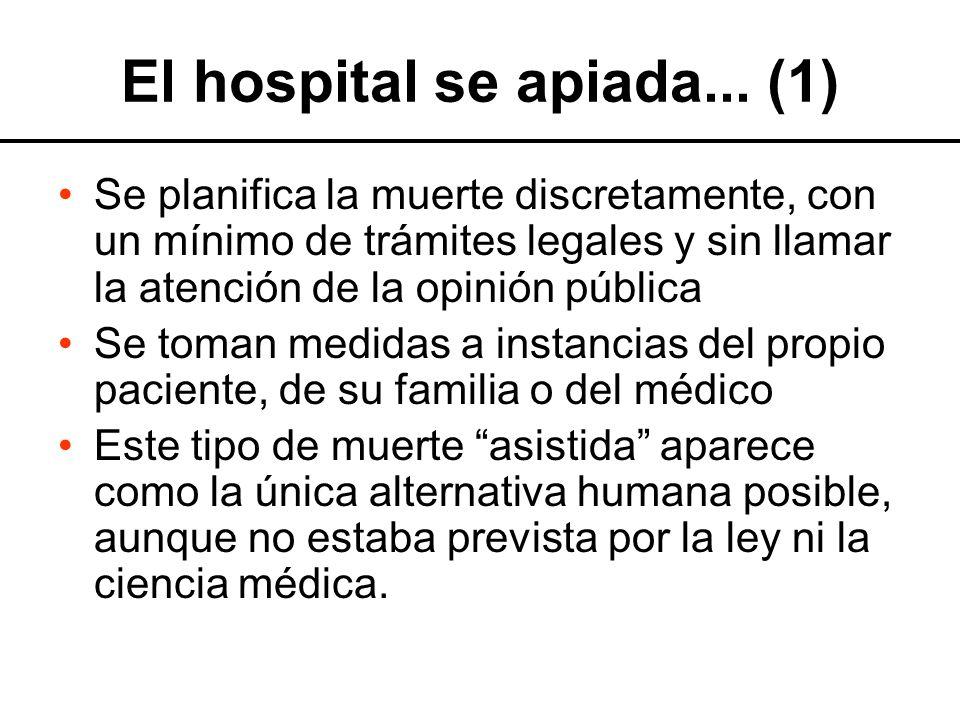 El hospital se apiada... (1)