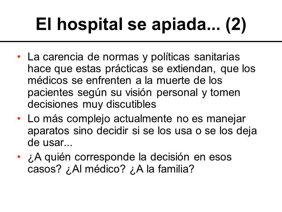 El hospital se apiada... (2)