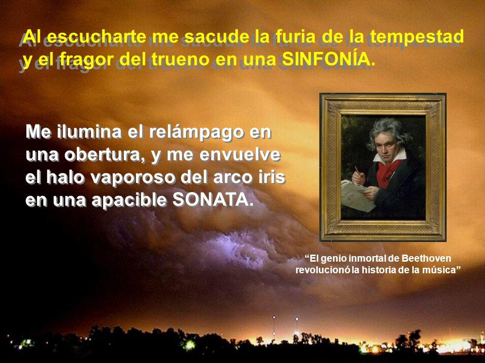 El genio inmortal de Beethoven revolucionó la historia de la música