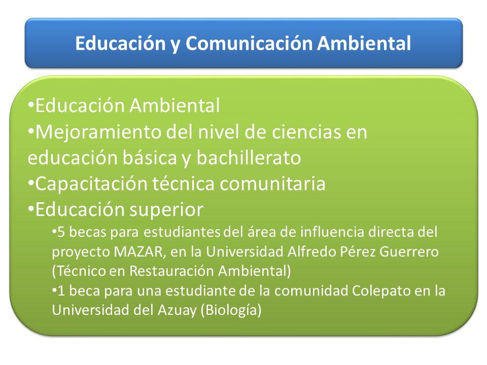 Educación y Comunicación Ambiental