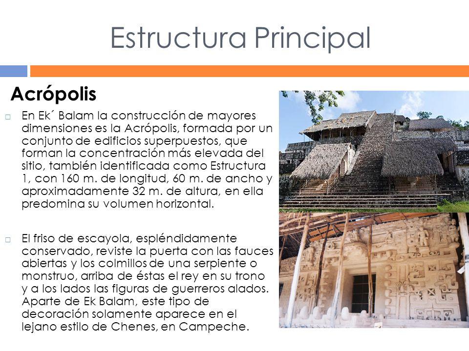 Estructura Principal Acrópolis
