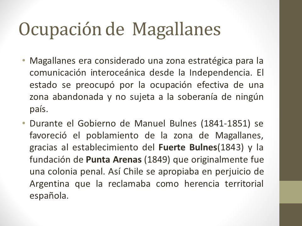 Ocupación de Magallanes