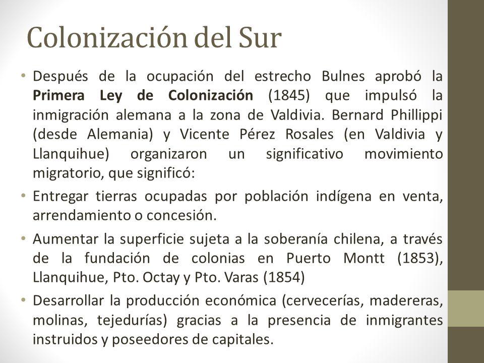Colonización del Sur