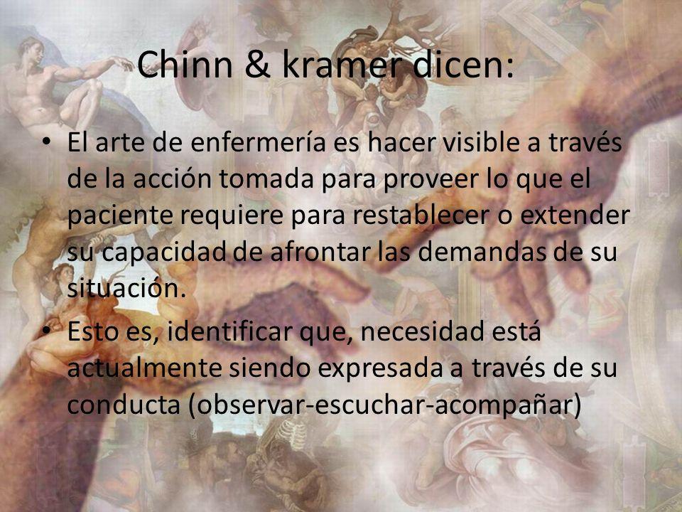 Chinn & kramer dicen: