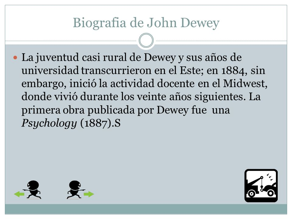 Biografia de John Dewey