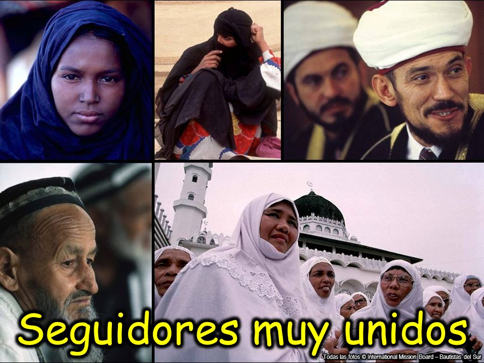Seguidores muy unidos Todas las fotos © International Mission Board – Bautistas del Sur