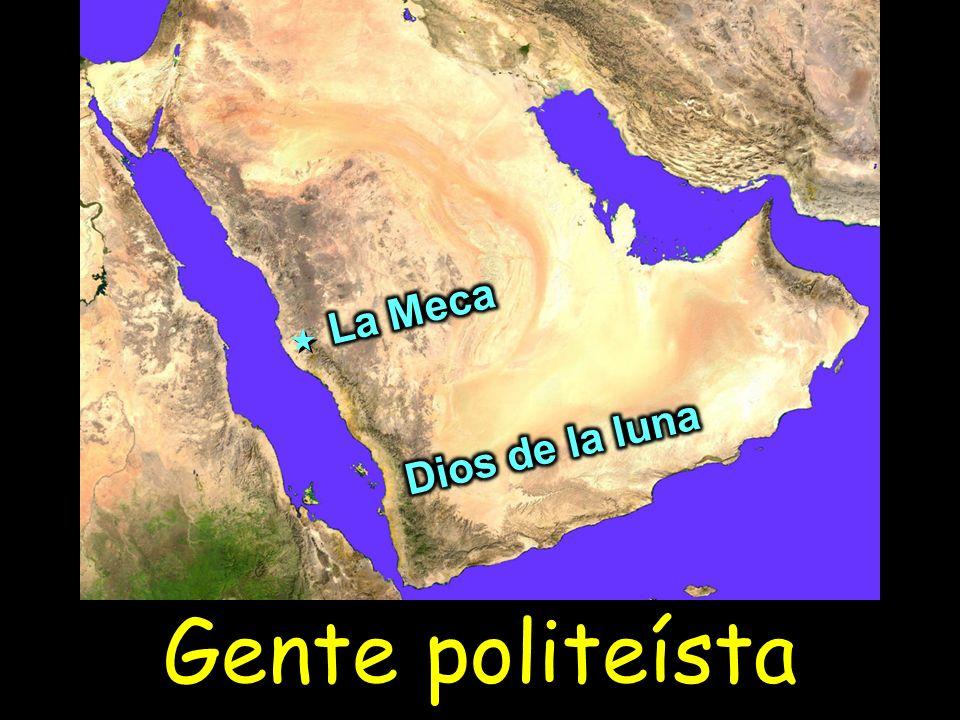 La Meca Dios de la luna Gente politeísta