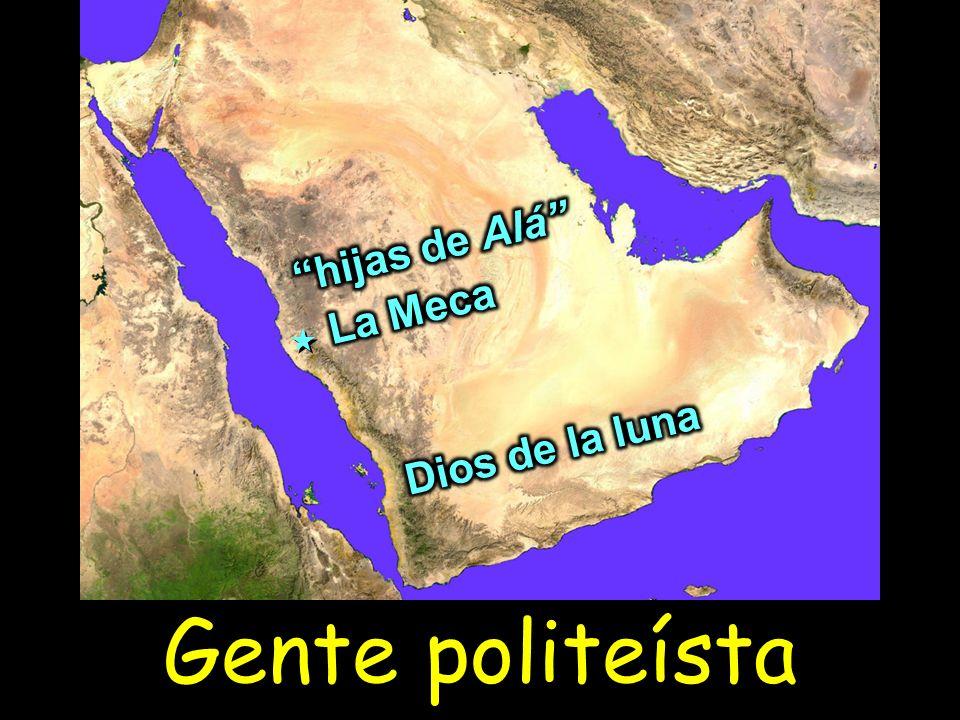 hijas de Alá La Meca Dios de la luna Gente politeísta