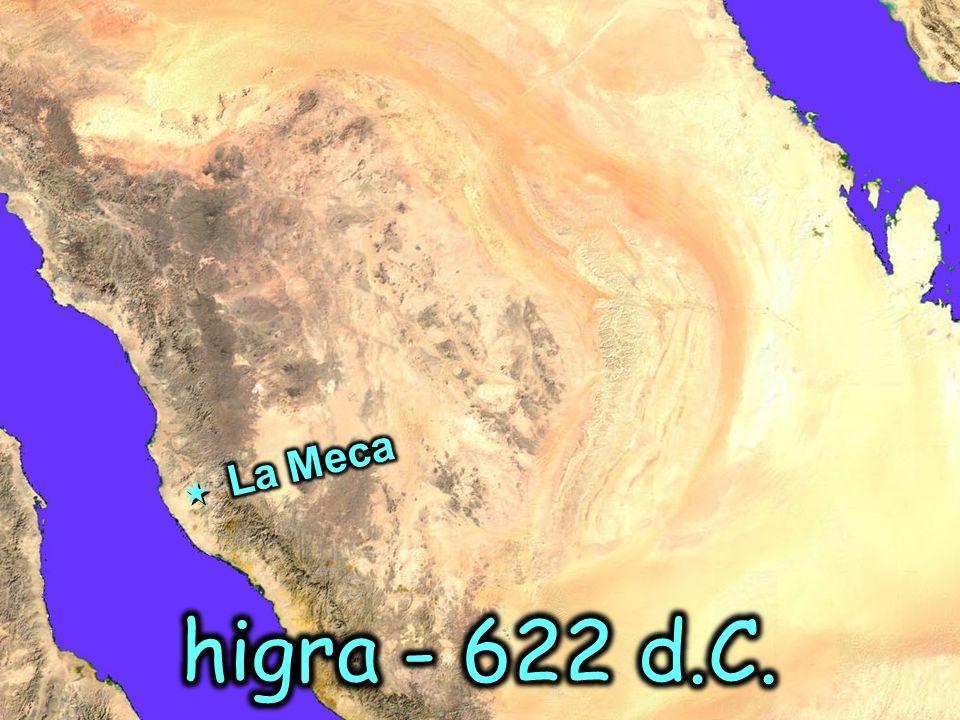 La Meca higra - 622 d.C.