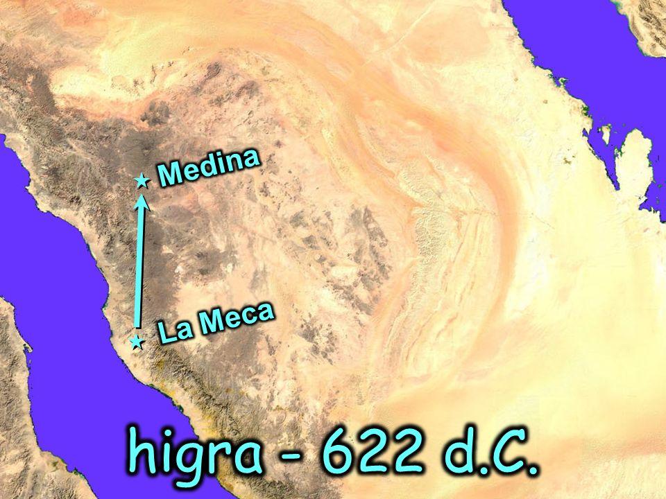 Medina La Meca higra - 622 d.C.