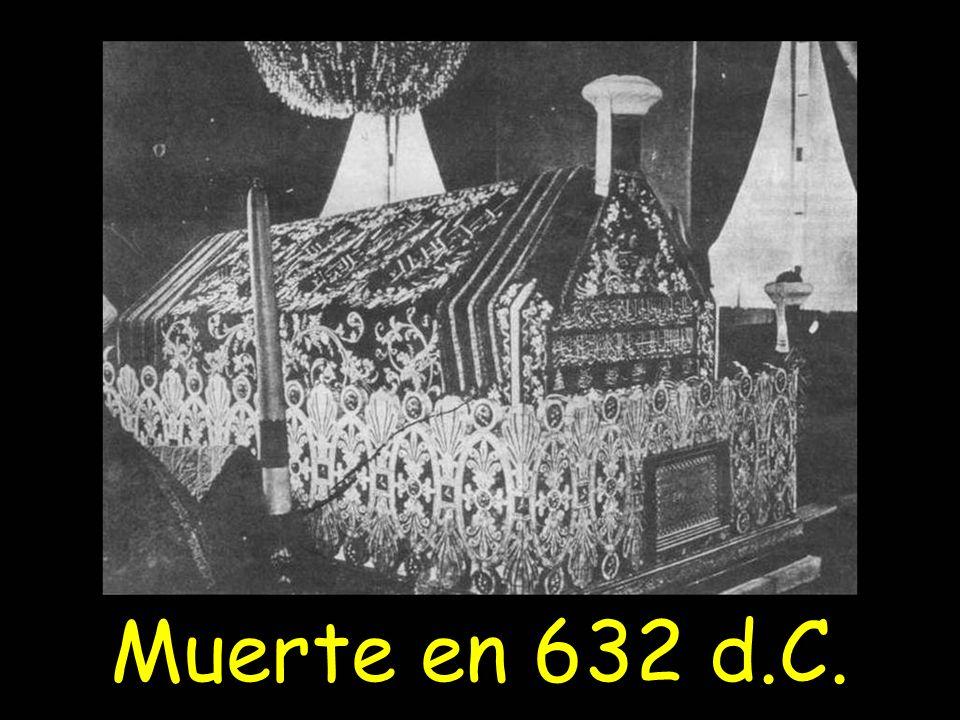 Muerte en 632 d.C.