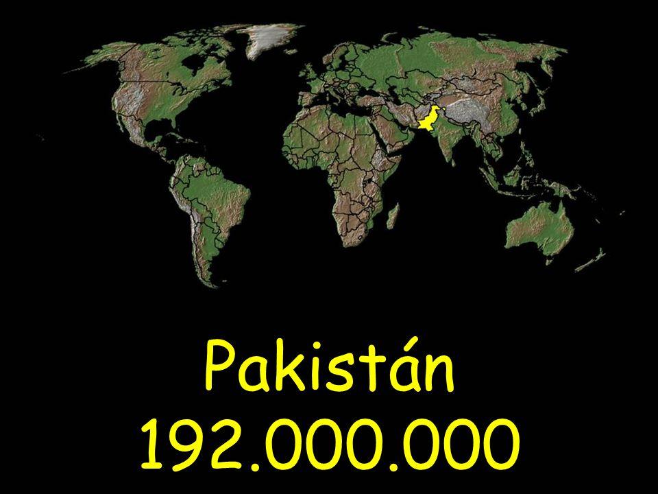 Pakistán 192.000.000
