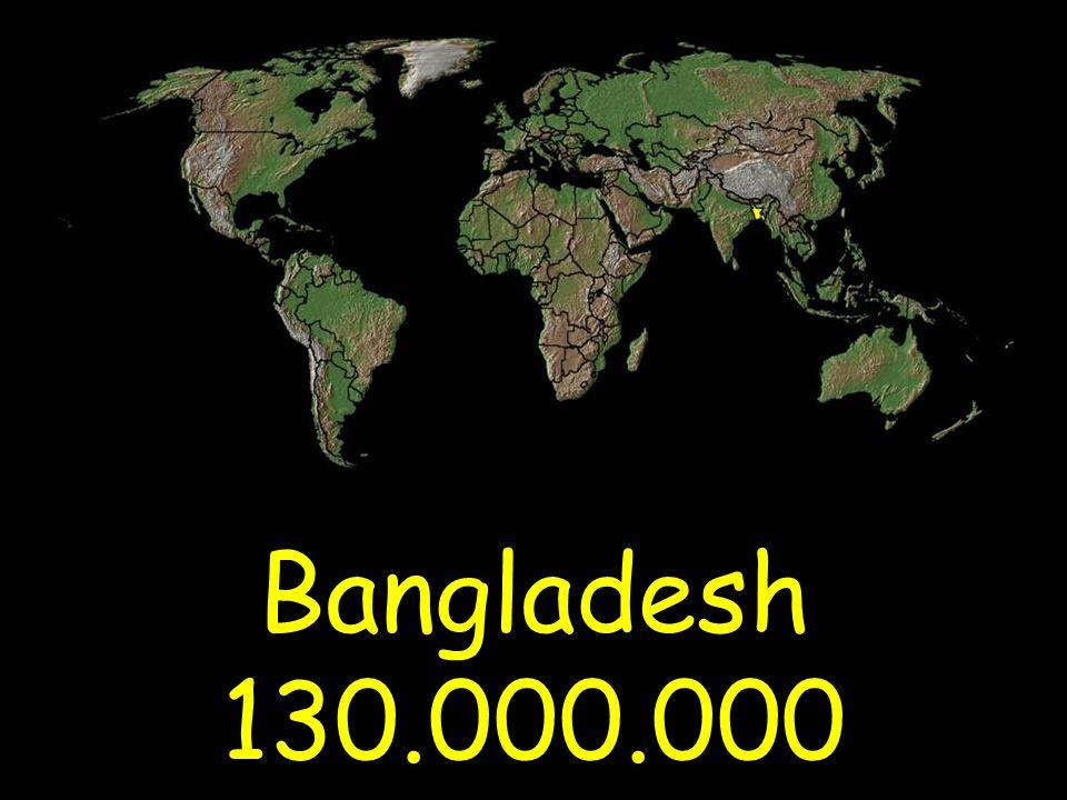 Bangladesh 130.000.000